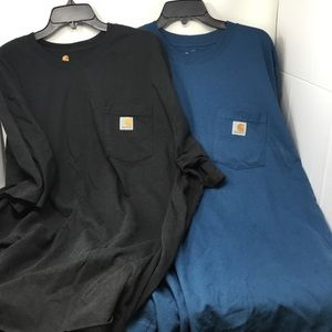 Carhartt Workwear Pocket Tee Pack of Two
